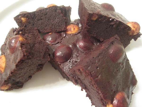 Cocoa Chili Nut Brownies