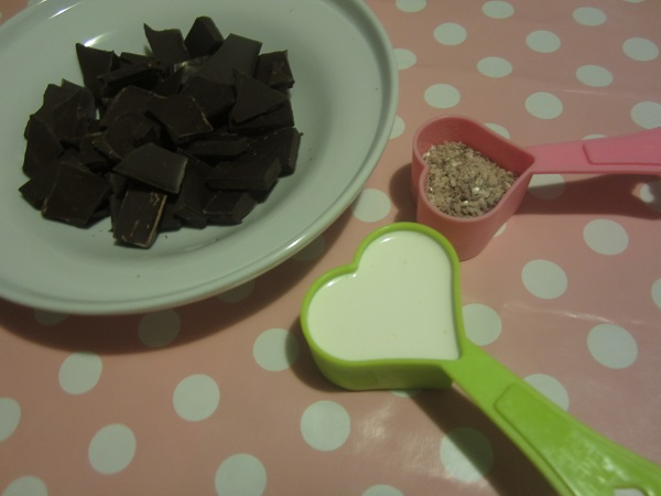 Mint Chocolate Ganache