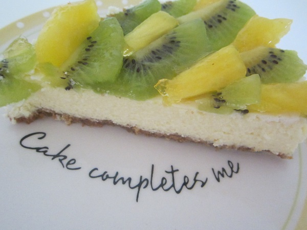 Pineapple & Kiwi Cheesecake
