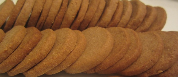 Whole Wheat Almond Cookies