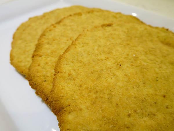 Coconut & Almond flatbread