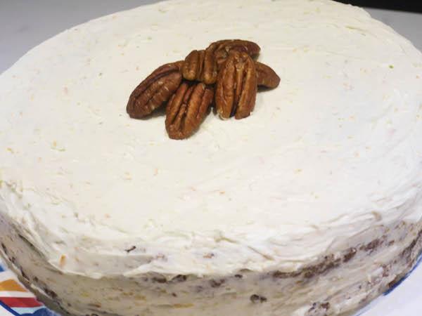 Gluten free carrot cake