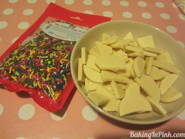 edibleconfetti&whitechocolate