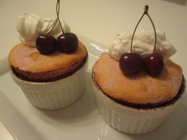 Cherry Souffles