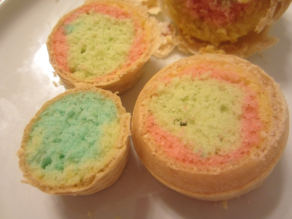 Multicolored Ice Cream Cupcakes