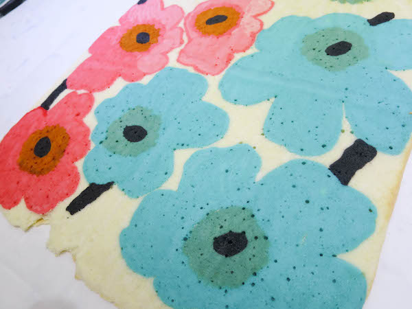 decoration roll cake